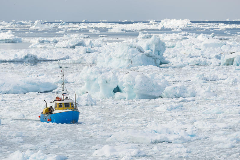 Fishermen Discovers Something Atop An Iceberg And Scien...